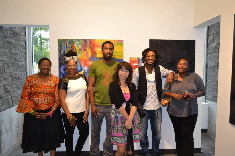 40 and Under: Artist Reception @ C Art Gallery in Seattle, WA