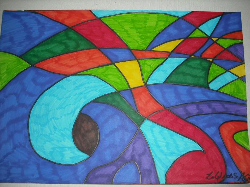 Abstract Madona