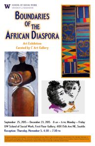 LaQuita S Thurman presented in a collaborative art exhibition