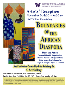 Come out to meet the Artist!